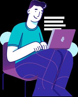 Ilustração das escritoras